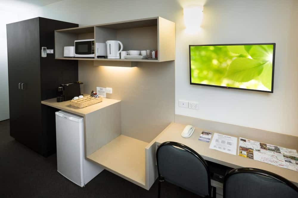 Standardværelse - ikke-ryger - tekøkken (Queen Room) - Opholdsområde