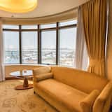 Harbour View Room, 2 single beds - Living Area