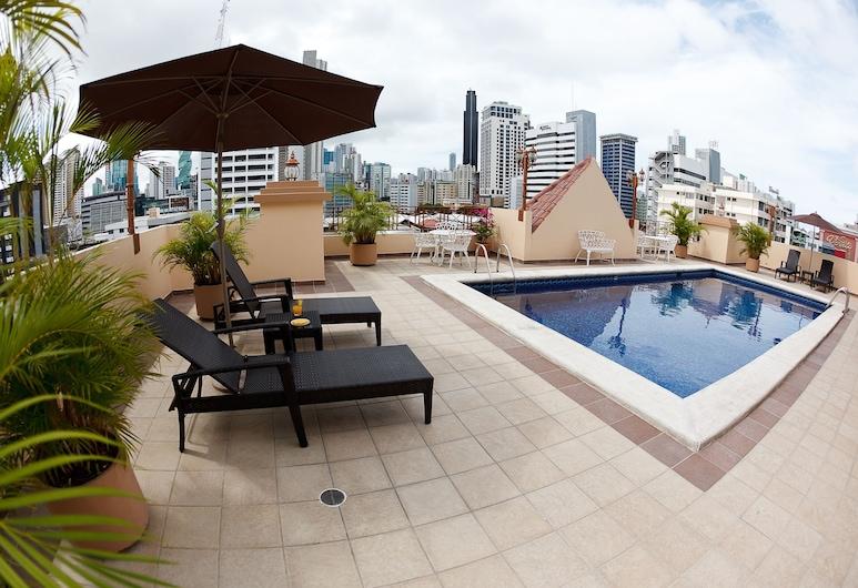 Hotel Coral Suites, Ciudad de Panamá, Alberca al aire libre