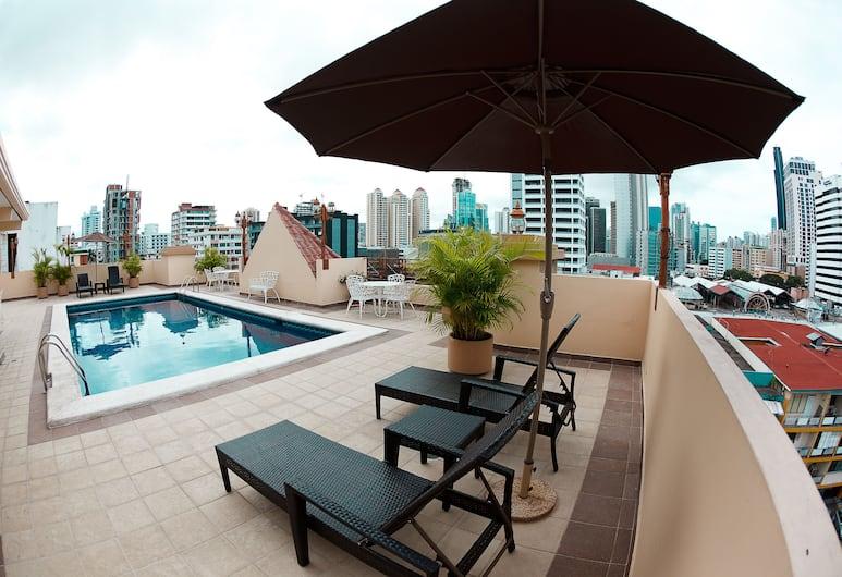 Hotel Coral Suites, Panama City, Sundeck