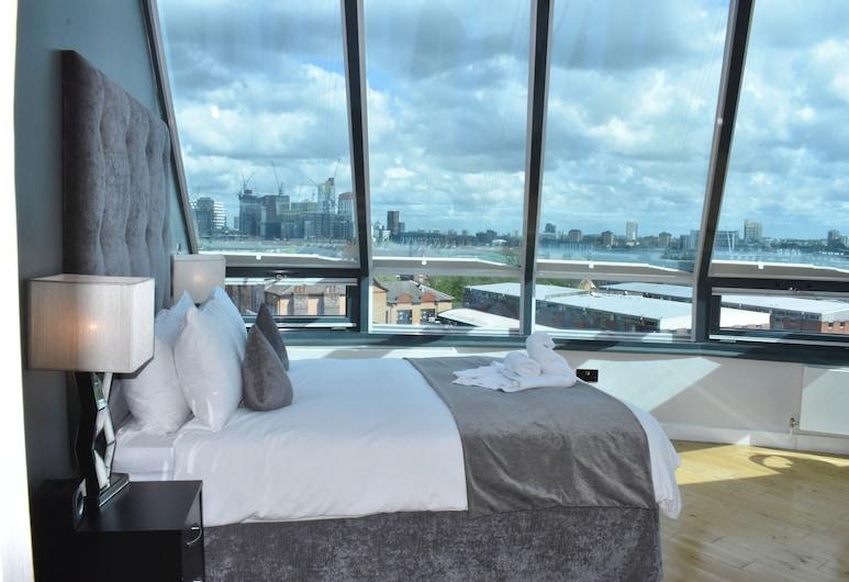 切爾西橋公寓式酒店, 倫敦, 頂層客房, 城市景觀