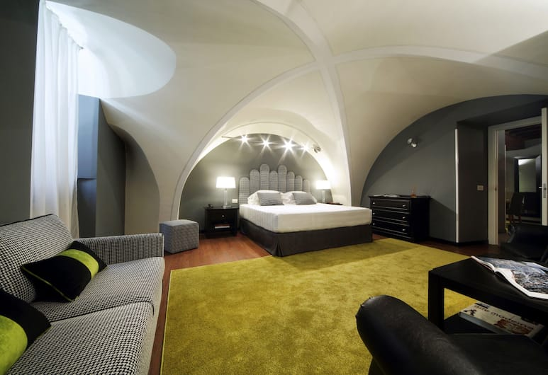 The Telegraph Suites, Roma, Suite Deluxe, Camera