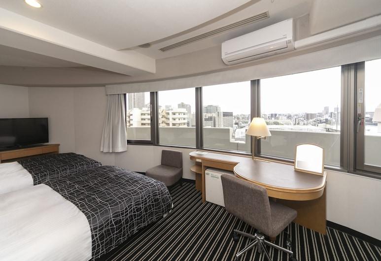 大阪天滿 APA 酒店, 大阪, 豪華雙床房, 吸煙房, 客房
