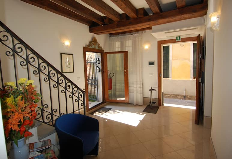 Santa Margherita Guesthouse, Венеция, Вестибюль