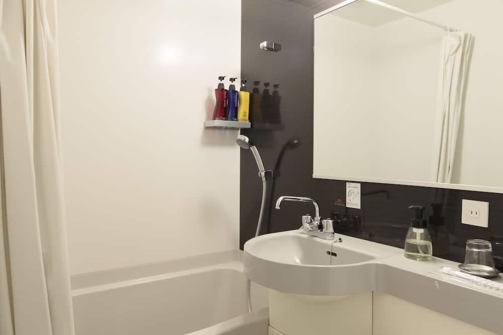 Quarto Individual, 1 cama de casal, Fumadores (    B  ) - Casa de banho