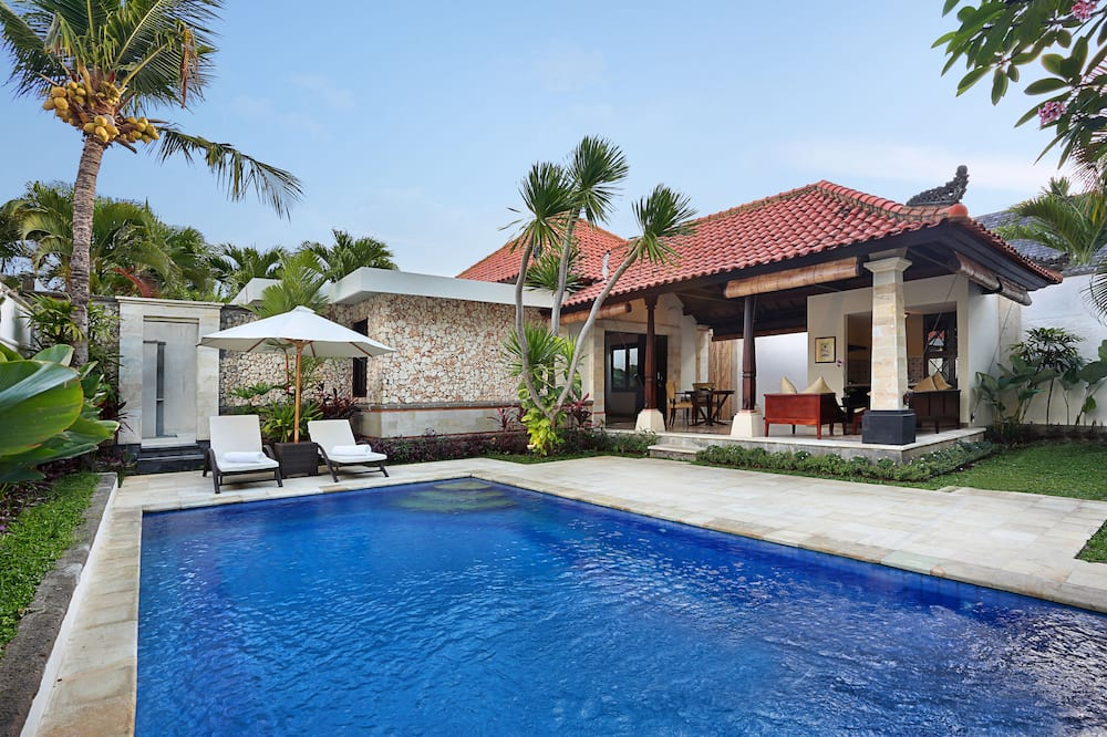 Honeymoon Villa, 1 King Bed, Private Pool, Pool View - Outdoor Pool