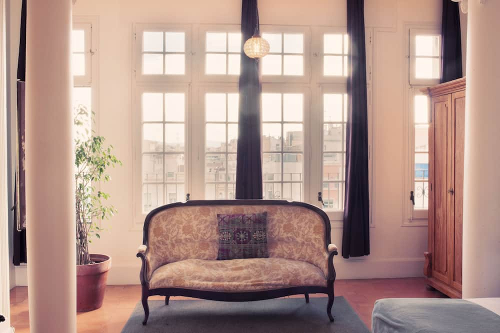 Suite, Private Bathroom - Living Area
