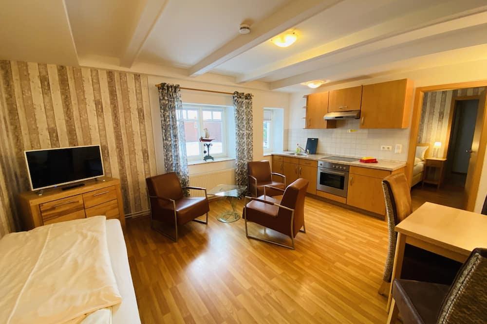 Стандартные апартаменты, 1 спальня - Зона гостиной