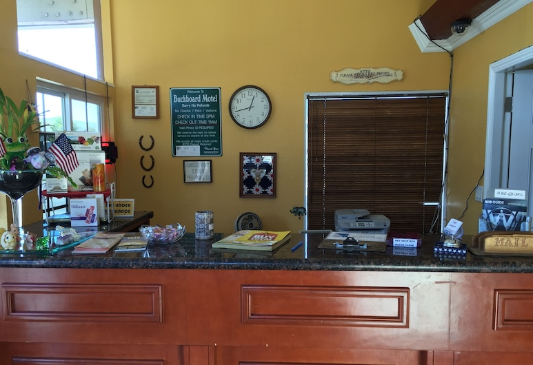 Buckboard Motel, Santa Maria, Recepce