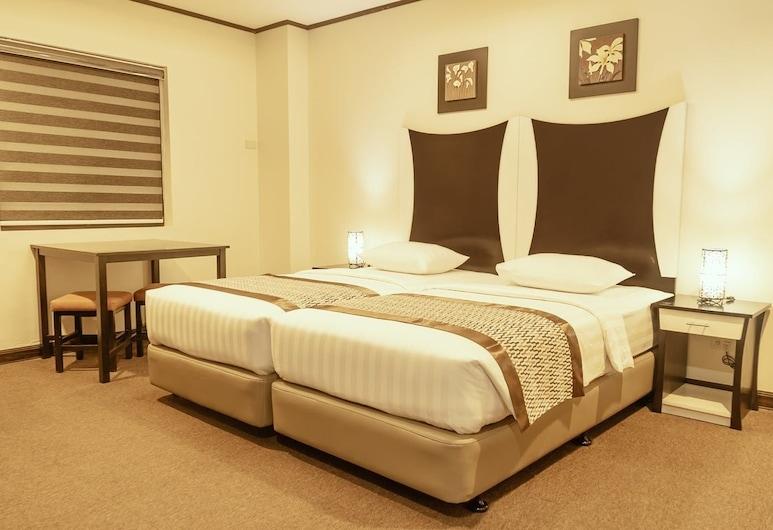 โรงแรมกาซาโบโคโบ, มะนิลา, ห้องดีลักซ์/ สองเตียงเดี่ยว, ห้องพัก