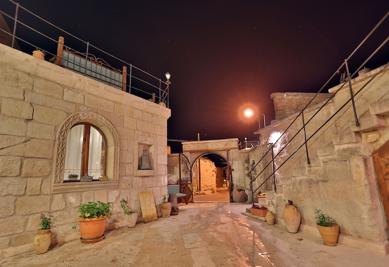 Turquaz Cave Hotel, Nevsehir, Entrada interior