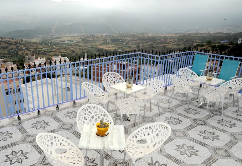 Casa Annasr, Chefchaouen, Standardværelse med 2 enkeltsenge - 2 enkeltsenge, Terrasse/patio