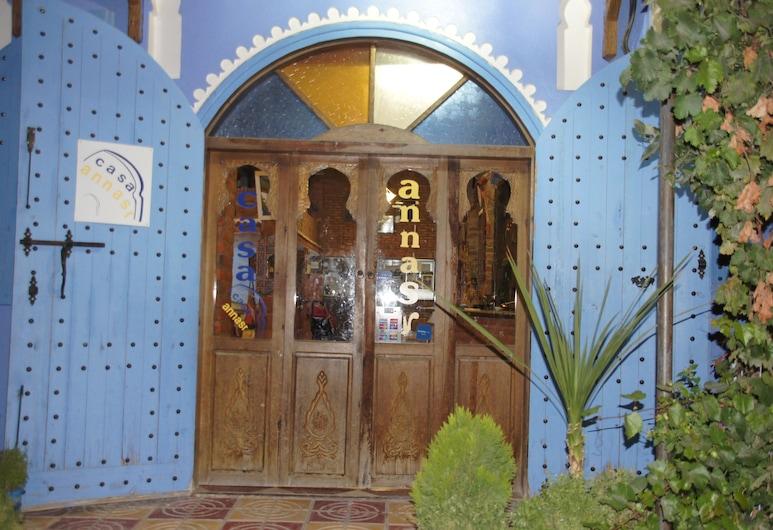 Casa Annasr, Chefchaouen, Hótelinngangur
