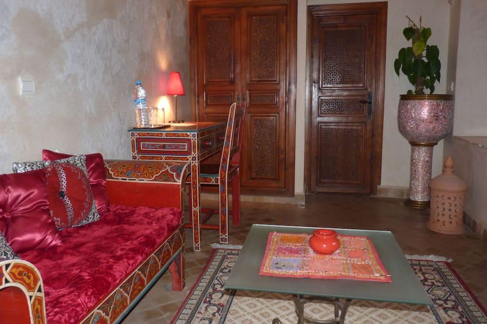 Apartmá (Rose) - Obývací prostor