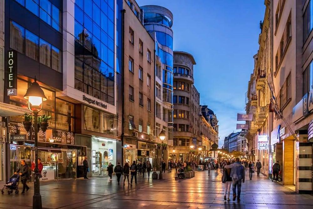 Belgrade art hotel en belgrado for Hotel belgrado