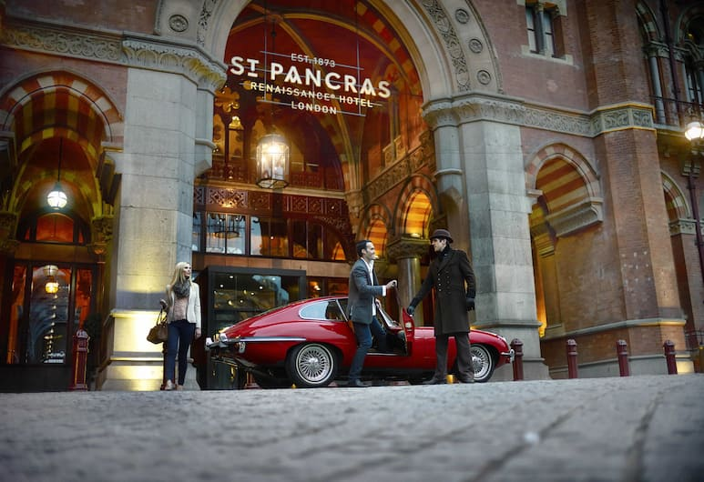St. Pancras Renaissance Hotel London, London, Fassaad