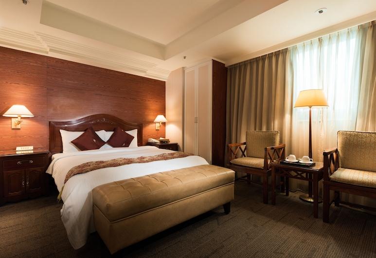新仕商務飯店, 台北市, 豪華雙人房, 客房