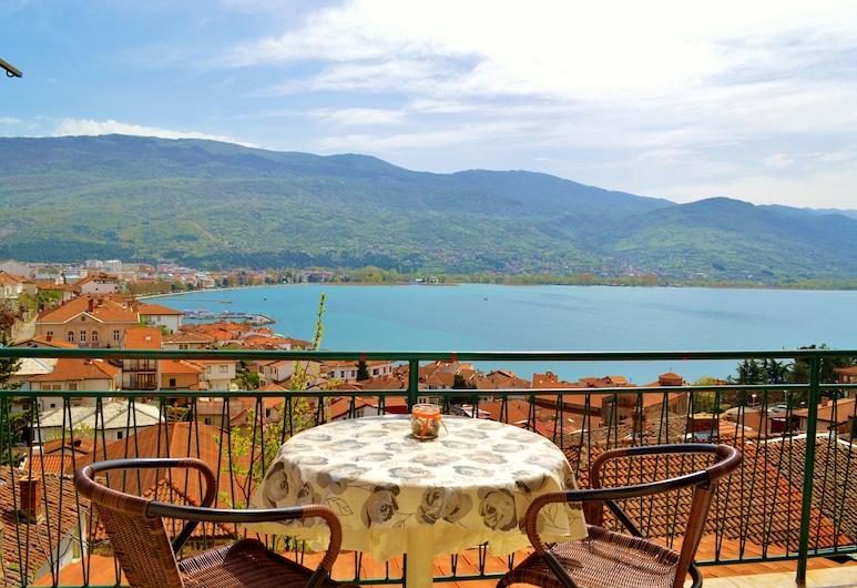 Villa Ohrid, Ohrid, Familielejlighed - 1 soveværelse - søudsigt, Værelse