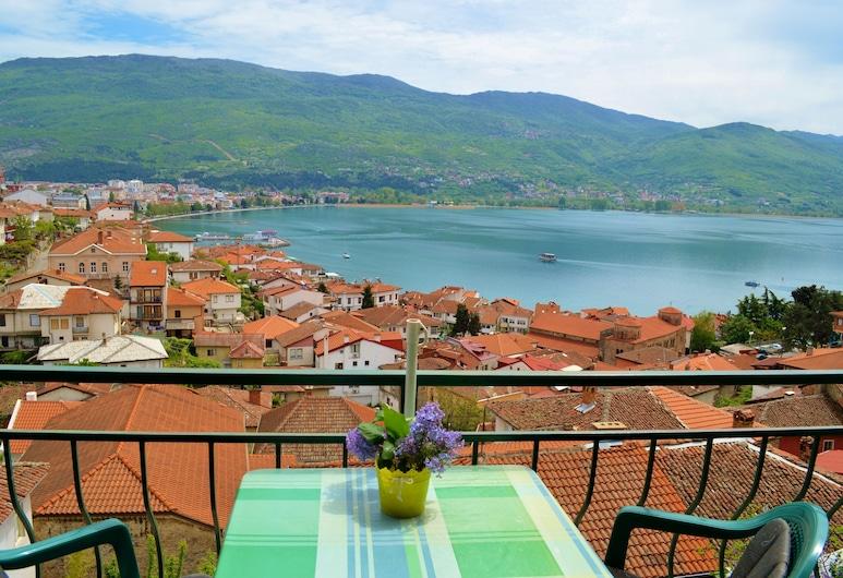 奧赫里德別墅 , Ohrid, 全景公寓, 1 間臥室, 湖景, 客房