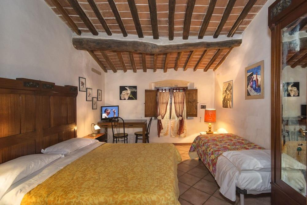 Dreibettzimmer, Turm - Zimmer