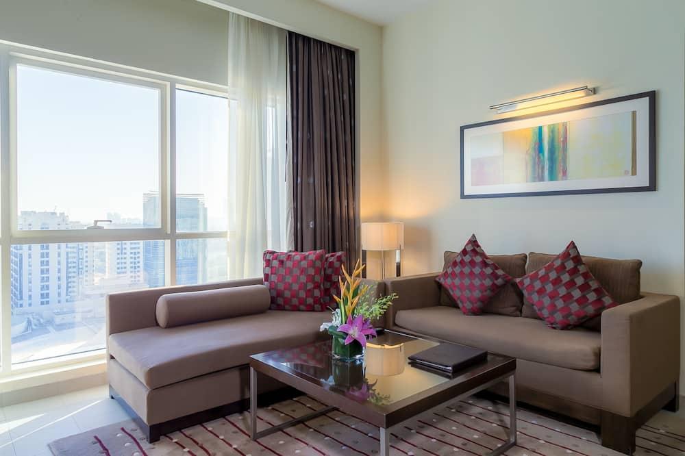 Departamento Deluxe, 2 habitaciones, cocina - Sala de estar