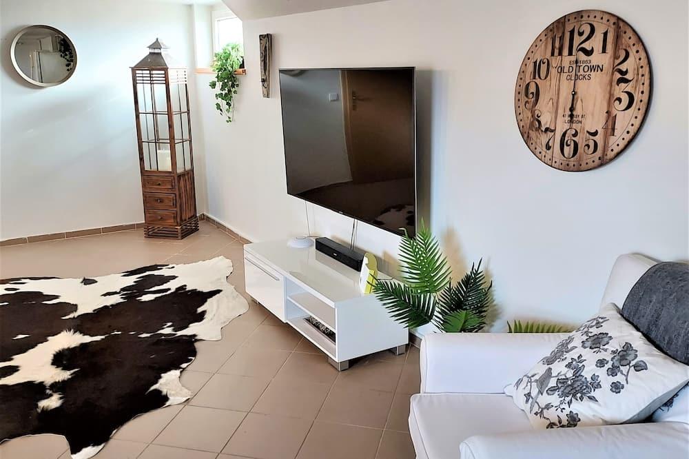 Hus – classic, 3 soverom, kjøkken, utsikt mot dal - Stue