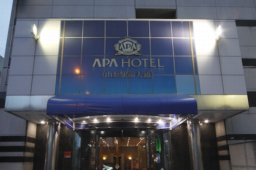 山形站前大通酒店阿帕飯店/