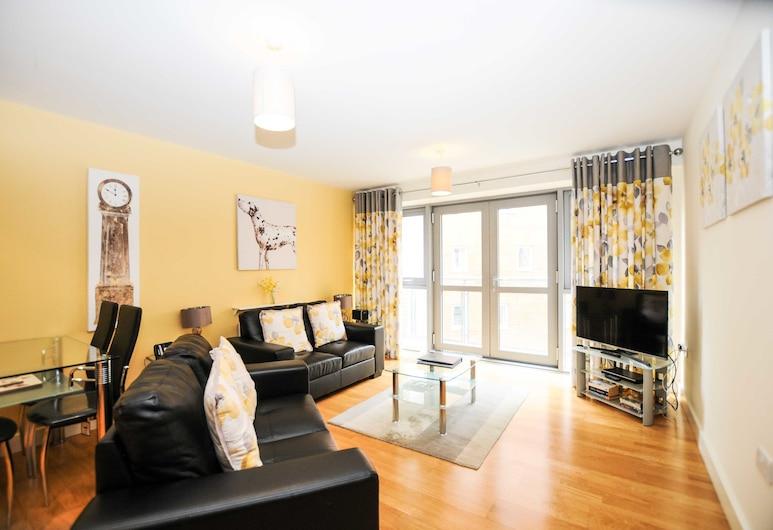 Your Stay Bristol Hamilton Court, Bristol, Standard Apartment, 1 Bedroom, Living Area