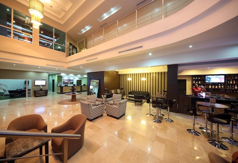 Victoria Hotel and Suites Panama, Ciudad de Panamá, Sala de estar en el lobby