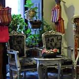 Interior de la entrada