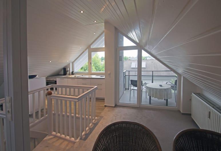 Gästehaus Alba, Rust, Appartement, balcon (PENTHOUSE), Chambre