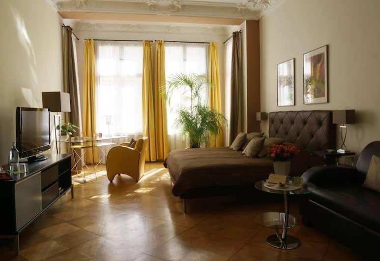 mittendrin - 柏林精品酒店, 柏林, 雙人房 (Modern), 客廳