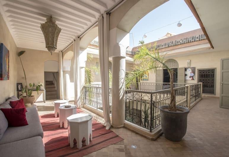 利雅德旺多姆溫泉酒店, 馬拉喀什, 大堂閒坐區