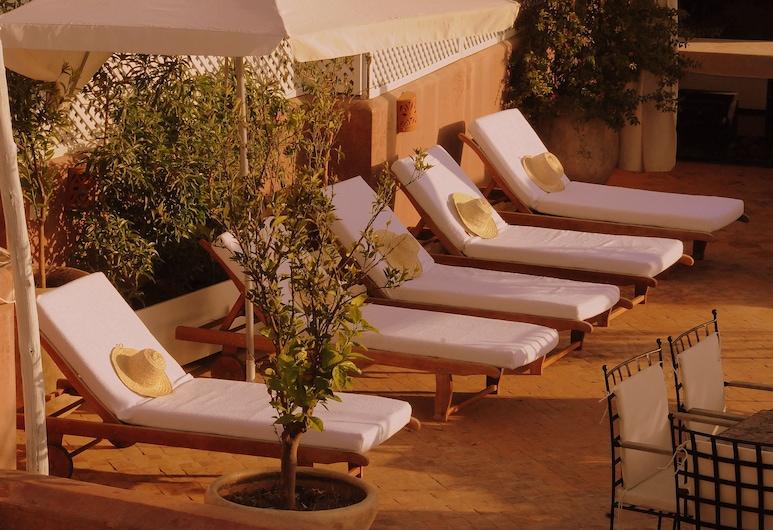 利雅德旺多姆溫泉酒店, 馬拉喀什, 日光浴平台