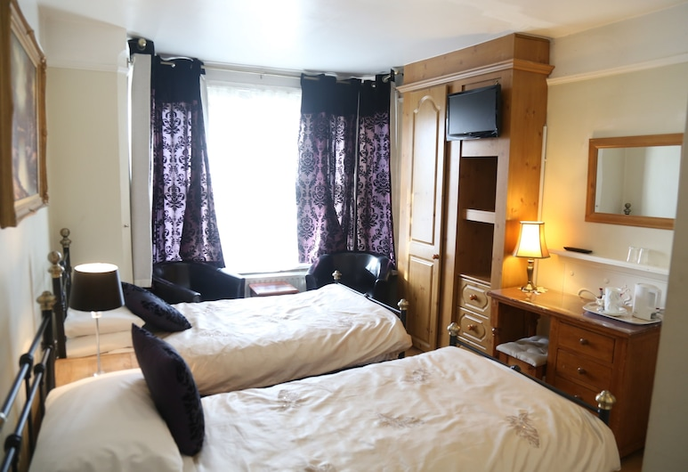 All Seasons Guest House, Oxford, Twin Room, Ensuite, Guest Room