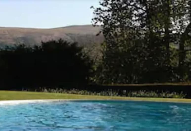 Peterstone Court, Brecon, Açık Yüzme Havuzu