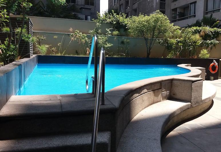 Apart Center Temporary Rent, Santiago, Pool