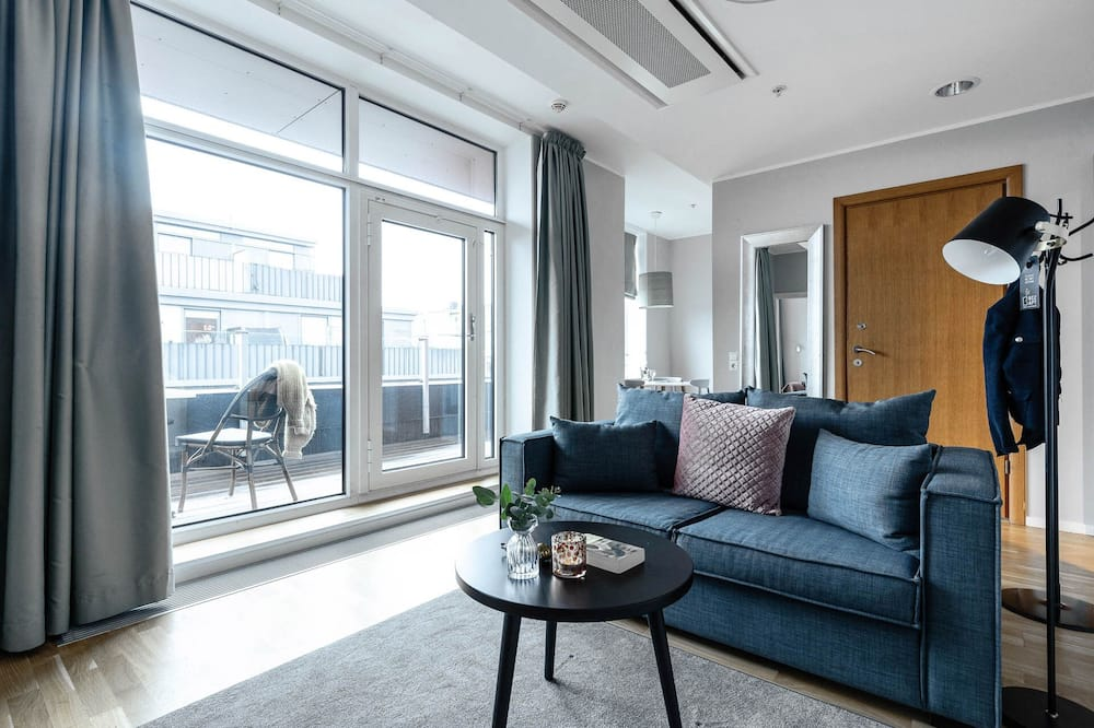 Apartamento estándar, 1 habitación, terraza - Sala de estar