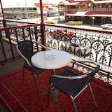 Balcony Single with a Single Bed - Balkon