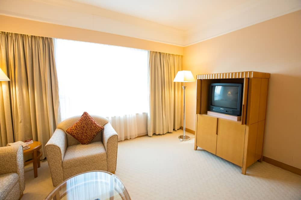 Business Suite (Double Only) - Living Area