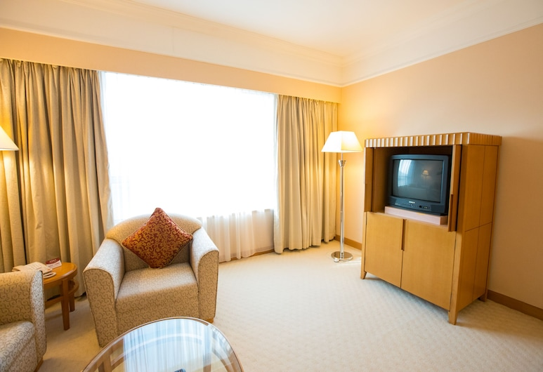 Golden Crown China Hotel, Τάιπα, Business Σουίτα (Double Only), Περιοχή καθιστικού