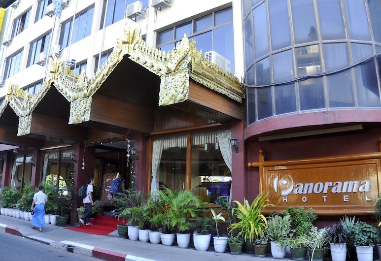 فندق بانوراما, يانجون, مدخل الفندق