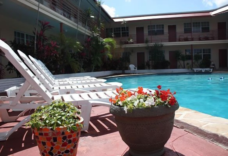 Beach and Town Motel, Hollywood, Outdoor Pool