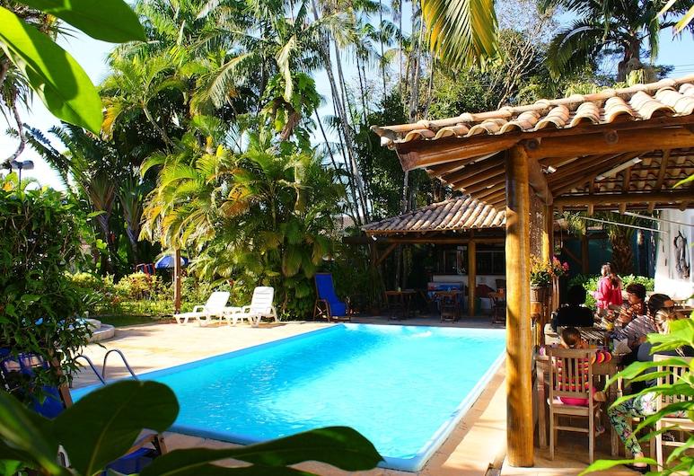 Pousada Ilha de Itaka, Ubatuba, Εξωτερική πισίνα