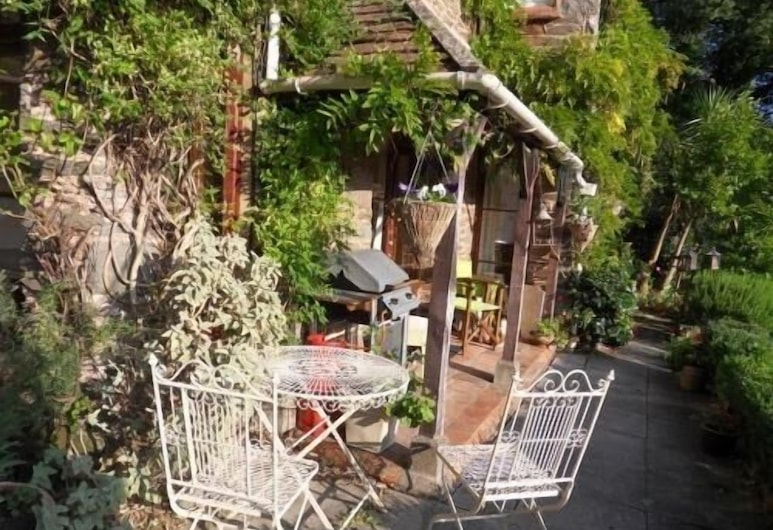 Countisbury Lodge, Lynmouth, Terrasse/patio
