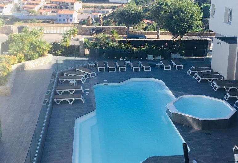 Hotel Revellata, Calvi, Room M - Balcon Vue Mer -18m² - Lit Double / Lits Jumeaux, Guest Room View