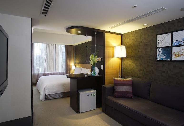 Hotel B, Taipei, Chambre VIP, Coin séjour