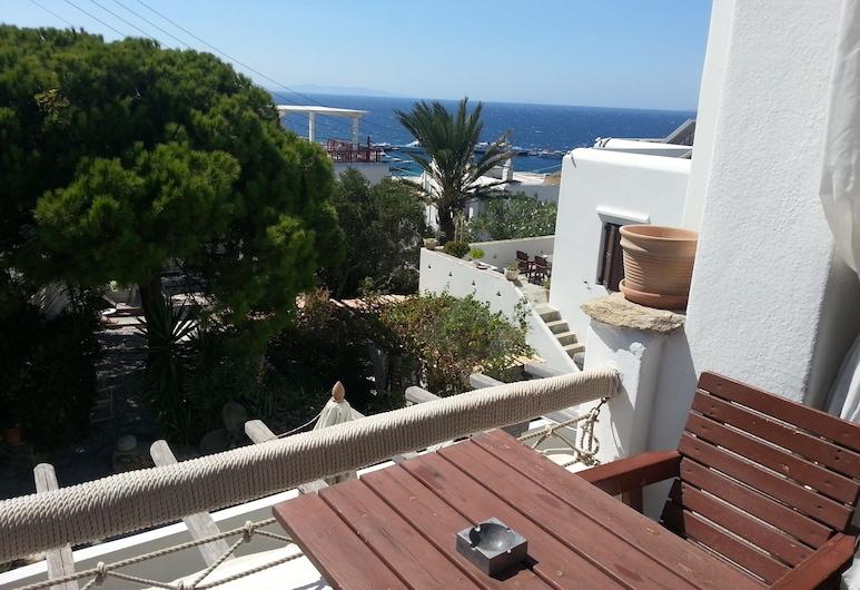 Rania Apartments Studios & Suites , Mýkonos, Külaliskorter, 2 magamistoaga, vaade merele, Terrass