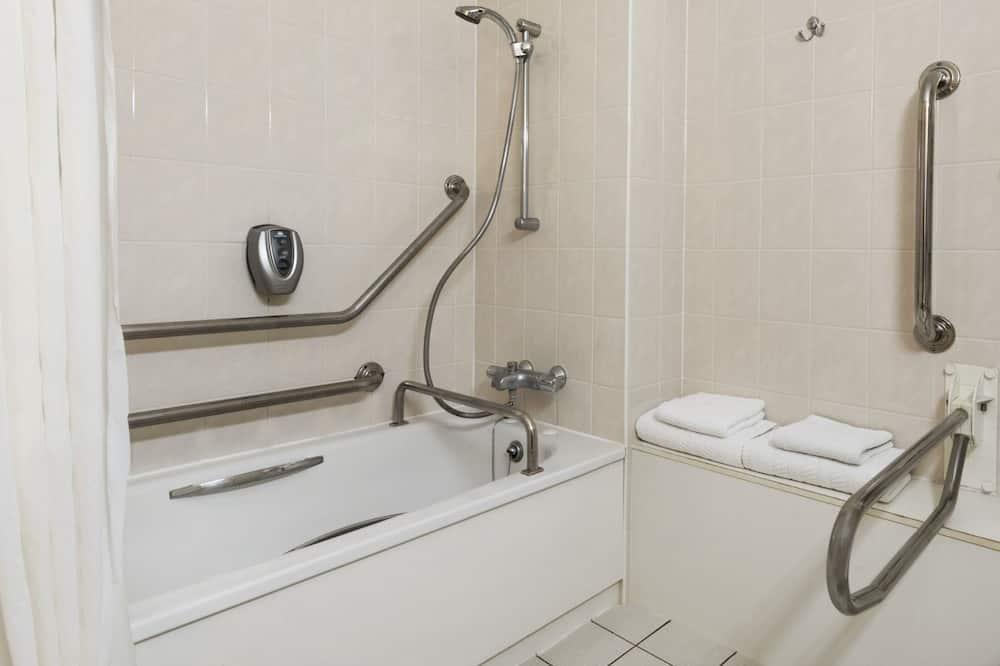 Номер, 1 односпальная кровать, для людей с ограниченными возможностями (Mobility Accessible) - Ванная комната