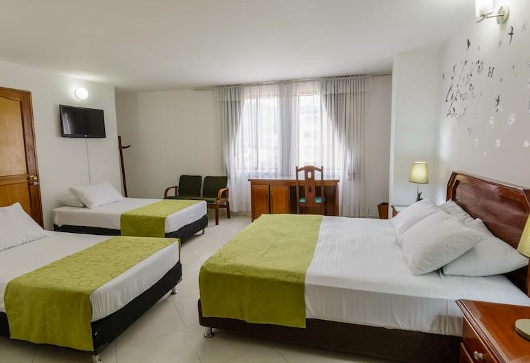 Hotel Florida Inn, Medellin, Trippelrum, Gästrum